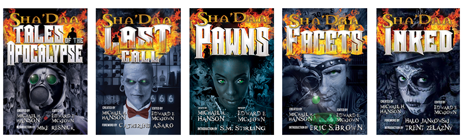 "Sha""Daa Series Covers"