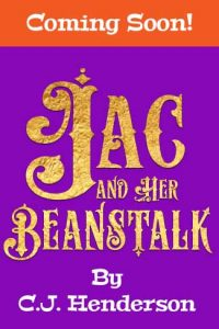 Jack and Her Beanstalk Mockup Cover