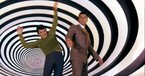 """Time Tunnel"" James Darren, Robert Colbert circa 1966 **I.V."